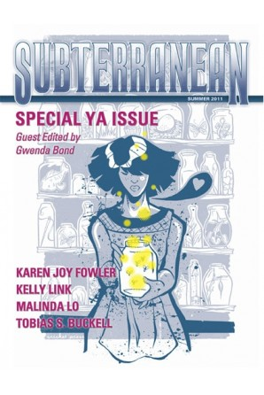 SUBTERRANEAN PRESS MAGAZINE Summer 2011