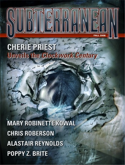 SUBTERRANEAN PRESS MAGAZINE Fall 2008