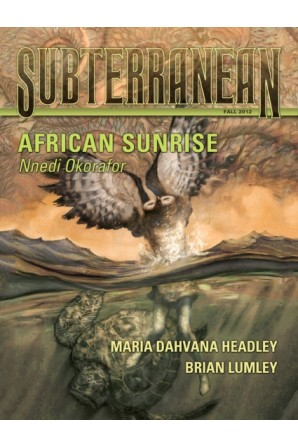 SUBTERRANEAN PRESS MAGAZINE Fall 2012